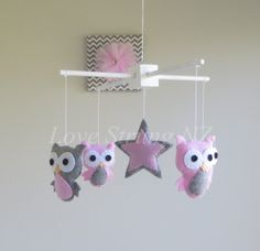 Love Strung NZ - The Hive NZ - A buzzing online shopping experience Owl Mobile, Childrens Gifts, Kids Bedroom, Garland, Baby Kids, Nursery, Love, Unique Jewelry, Handmade Gifts