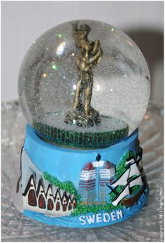 Snow globe from sweden
