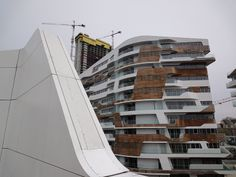 Zaha Hadid Residence, Citylife, April 2014
