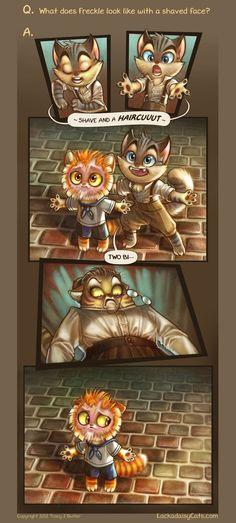 Lackadaisy Cats :) Amazing comics and pure cuteness :)