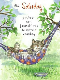 Goeie Nag, Goeie More, Afrikaans Quotes, Friday Weekend, Special Quotes, Morning Wish, Positive Thoughts, Me Quotes, Cute Animals