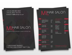 20 Stylish Examples of Salon Brochure Designs - Jayce-o-Yesta ...