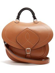 Saddle leather bag   Maison Margiela   MATCHESFASHION.COM UK