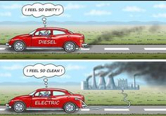 While there's a couple of problems with this (electric cars are cleaner than petrol as they don't produce particulates that affect air quality) only electric cars powered by renewable energy are truly sustainable #environment #planetearth #renewables #renewableenergy #sustainableliving #stopanimalcruelty #stopoil #stopfossilfuels #humanrights #environmentalist #politics #america #greatbritain #wales #plasticwaste #saveouroceans #saveourplanet #climatechange #globalwarming #earth #science…