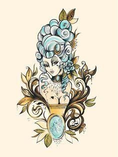Marie Antoinette tattoo - Google'da Ara