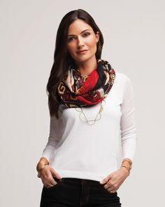 Dalia Scarf   Jewelry by Silpada Designs