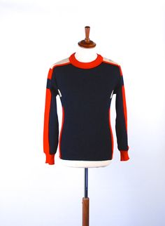 1950's Mod Ski Sweater by Busnel Made in France 100% by DesertMoss