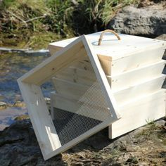 how to build a continuous flow through worm bin