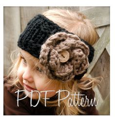 Knitting PATTERN-The Lola Warmer (Toddler, Child, and Adult sizes) also can be Made to Order. $5.50, via Etsy.