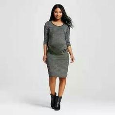 be21e995b Maternity Striped Sleeve T-Shirt Dress - Liz Lange® for Target   Target