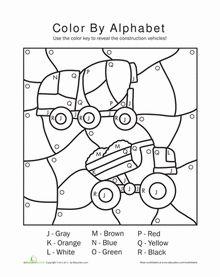alphabet color by number alphabet colors and number worksheets. Black Bedroom Furniture Sets. Home Design Ideas