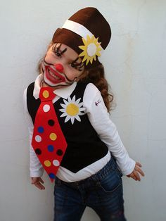 Disfraz infantil de payaso, child clown costume