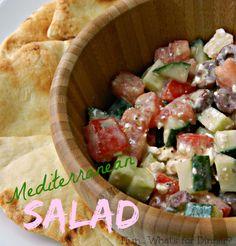 Hun... What's for Dinner?: Mediterranean Salad