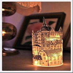 Paper lanterns DIY