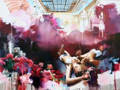 Chloe Early has become a familiar name in the modern art world - and for good reason. Her playfully erotic, fantasy-themed pieces explode with color, Modern Art, Contemporary Art, Kunst Online, Art Et Illustration, Illustrations, Museum, Art Moderne, Chloe, Drawing Tutorials