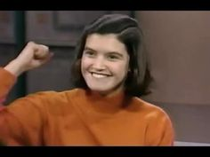 Phoebe Cates interview, David Letterman, 1989