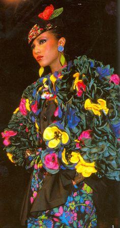 Yves Saint Laurent Spring/Summer 1983