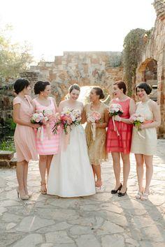 Mix and Match Bridesmaid Dress Ideas | Bridal Musings Wedding Blog 10