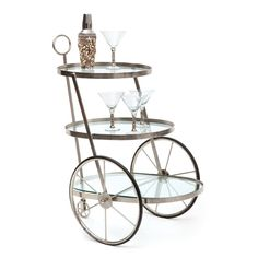 Miami Bar-Tea Cart  - Go Home - $490.00- So cute. It would work in lots of rooms.--Furniture-Concept Candie Interiors--Concept Candie Interiors now offers e-design services and custom mood boards for only $200 per room!