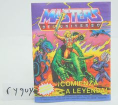 MOTU, Spain, The Legend Begins, Mini Comic Book, Masters of the Universe, He-Man in Juguetes, Figuras de acción, Otros | eBay