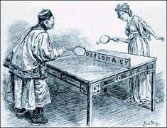 ping pong diplomacy   ... Rules Quiz, and this interesting picture on Ping Pong Diplomacy