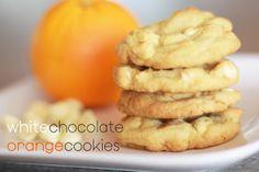 Landee See, Landee Do: White Chocolate Orange Cookies