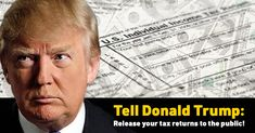 Everyone has a right to know, and anyone seeking to lead our country should be fully transparent with voters. Like the other two candidates, you must immediately release your tax returns to help voters make an informed choice for President
