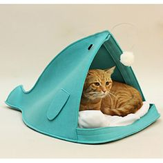 Oceano Cotton Peixe Estilo Cachorrinho Kennel Kitty Cama de Animais Cães – BRL R$ 160,71