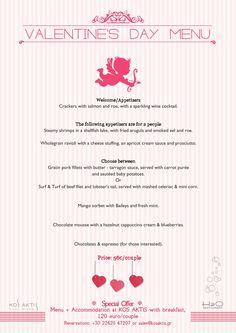 Ο σεφ μας & η ομάδα του ετοιμάζουν ένα ξεχωριστό μενού για την ημέρα του Αγίου Βαλεντίνου! #ValentinesDay #kosaktis #kosisland #H2O