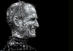 Happy birthday Steve Jobs! (A mosaic portrait of Steve Jobs for the Los Angeles Times)