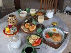 Breakfast @ Alam Shanti, Bali