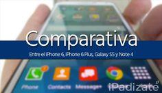 iPhone 6 vs Galaxy S5 vs iPhone 6 Plus vs Galaxy Note 4: Comparativa