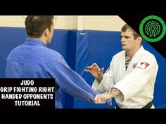Judo Grip Fighting against right/same handed opponents Tutorial - YouTube