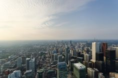 This is Toronto - CNTower view -