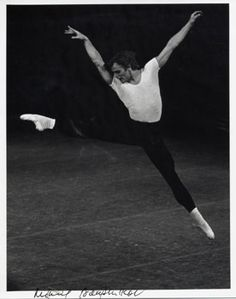 "Baryshnikov. My best friend and I saw him perform, and ever after referred to ""the evening we saw God."""