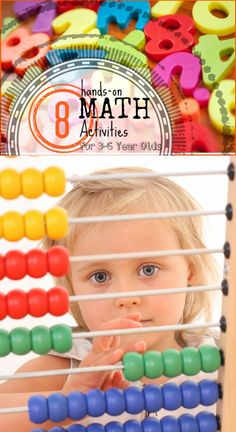 8 Hands-on Math for Toddlers and Preschoolers