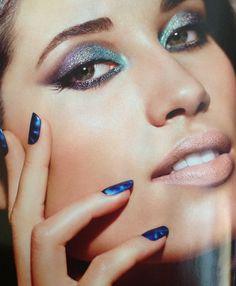 Maquiagem para os olhos espetacular para a campanha da coleção Black Crystal, da Make B. Fernando Torquatto é mesmo um artista!