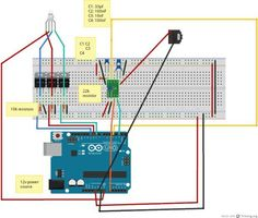 Arduino LED Lamp Flickering to Music : 4 Steps - Instructables Arduino Led, Arduino Board, Computer Programming, Gaming Computer, Simple Arduino Projects, Hobby Electronics, Internet Radio, Windows Phone, Gaming Setup