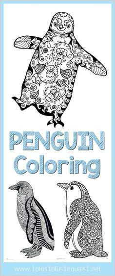 Doodle Coloring Pages Penguin Doodle Coloring Pages for Adults and Kids ~ fun for a winter theme!Penguin Doodle Coloring Pages for Adults and Kids ~ fun for a winter theme! Penguin Coloring Pages, Doodle Coloring, Free Coloring Pages, Coloring Books, Mandala Coloring, Coloring Sheets, Printable Coloring, Penguin Craft, Penguin Love