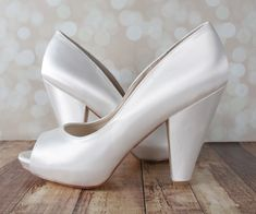 4c96e81e7f9a Ivory Kate Wedding Shoes by Ellie Wren (Color May Be Customized)