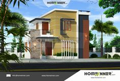 Stunning home designs that you will love to see,Click… http://www.homeinner.com/1000-sq-ft-3-bedroom-3-bathroom-2-floor-house-plan-design/