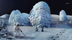 Nine Visions of Moontopia competition