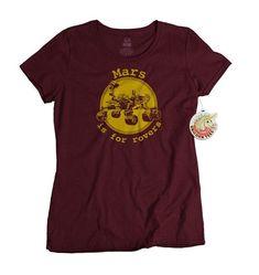 Science Tshirt Mars is for Rovers Shirt Funny Tshirts Science #funnytshirtsforguys