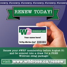 Want #WRP‬ swag? We have hats, keychains, bumper stickers, travel mugs, window decals, shirts and more. You could win a swag pack by simply re-newing* your Wildrose Membership during the month of August!     ~Team Wildrose #lovewrp *New memberships are also eligible