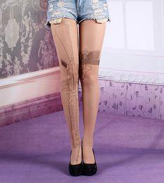 kawaii machine gun skull uk flag socks stockings leggings · Cute Kawaii {Cuteharajuku} · Online Store Powered by Storenvy
