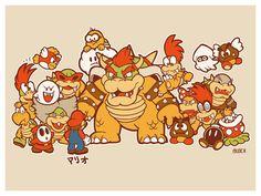 Super Mario Bros. - Munch
