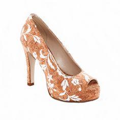 cork rose peep toe  - Love it since ever - @ http://www.nae-vegan.com/