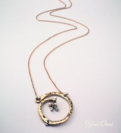 Circle of Life with Caviar Necklace