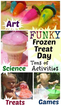 Summer Fun - Funky Frozen Treat Day | Growing A Jeweled Rose