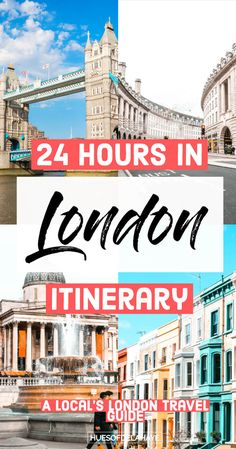24 hours in London England by a local. This 1 day in London itinerary is jam packed with the best things to do in London if you only have 24 hours in london 1 day trip. Read more for top London attractions and must see sights in London like Covent Garden, 24 Hours In London, One Day In London, Things To Do In London, London Must See, London Tours, London Travel, 1 Day Trip, Europe Travel Guide, Travel Packing